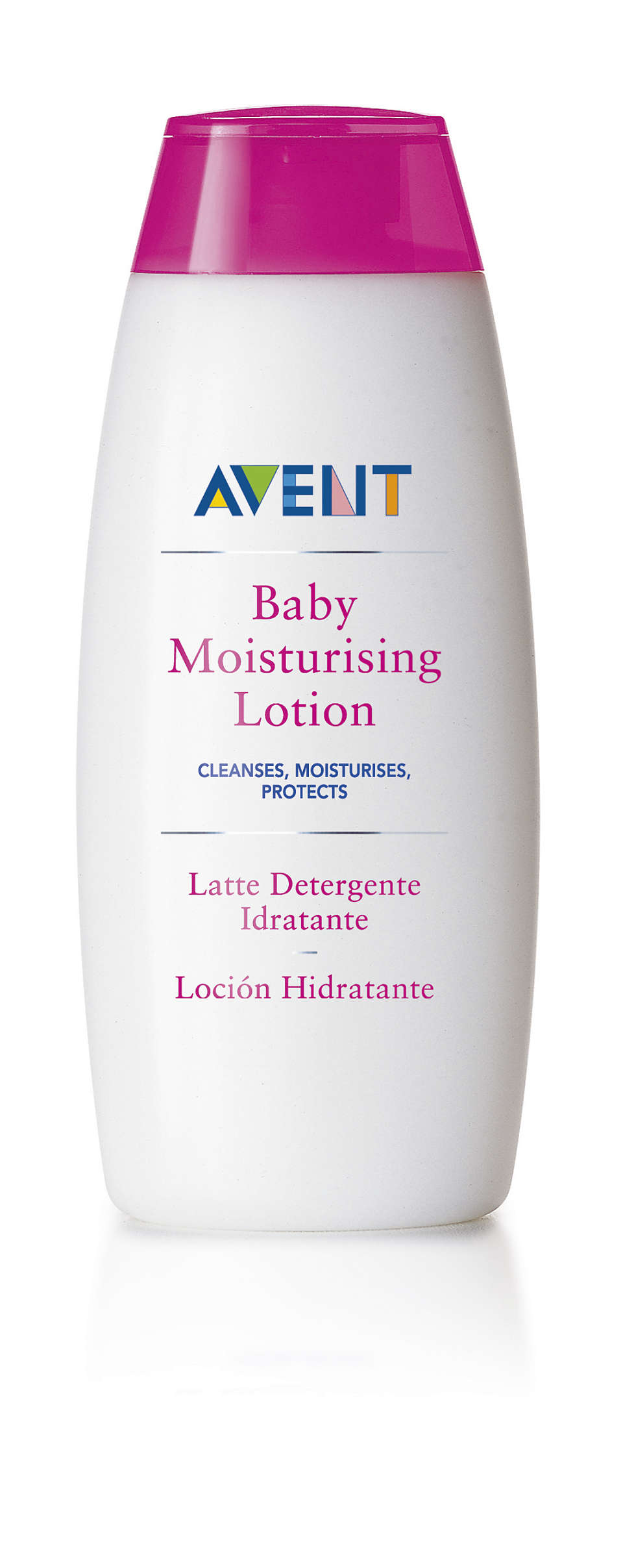 Cleanses, moisturises, protects