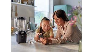 Ladda ner NutriU-appen för hälsosamma, välsmakande familjefavoriter