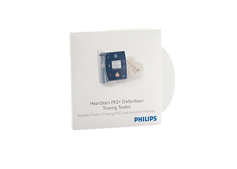 HeartStart FR2 Defibrillator Training Toolkit AED Training Materials