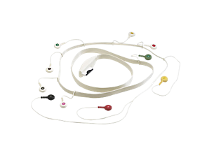 Large SV Patient Cable - 10 lead (IEC) Diagnostic ECG Patient Cables and Leads