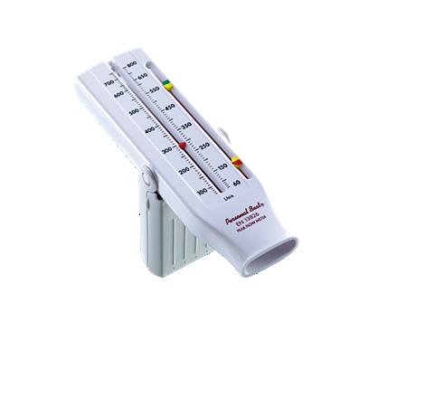 Personal Best Universal Peak Flow Meter Kontrolle des Peak-Flow bei Asthma