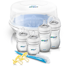 SCD298/01 Philips Avent Natural Baby Bottle Essentials Gift Set