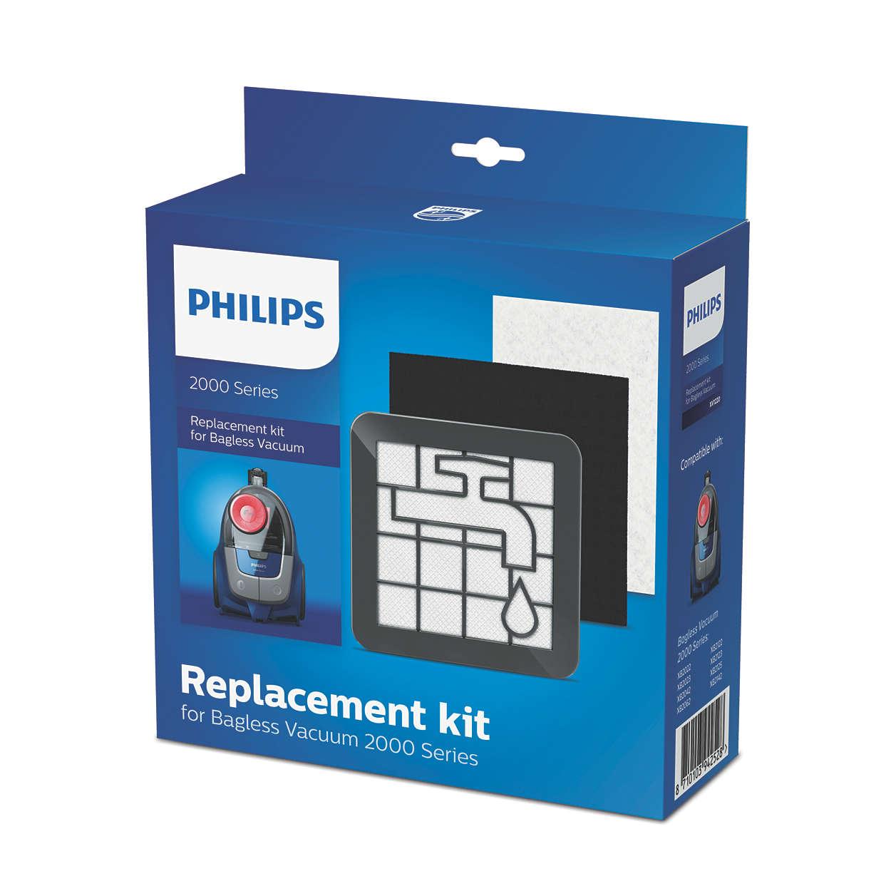 Replacement kit for Bagless Vacuum 2000 Series*