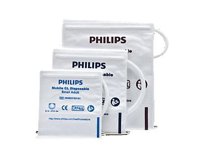 philips mobile cl einweg blutdruckmanschette f r. Black Bedroom Furniture Sets. Home Design Ideas