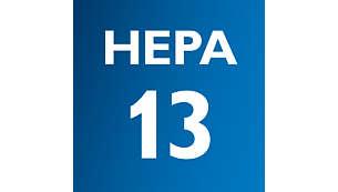 Sustav HEPA13 s filtrom HEPA AirSeal zadržava 99 % prašine