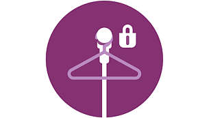 Hang&Lock keeps your hanger securely in place