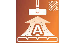 Razred energijske učinkovitosti A za trda tla