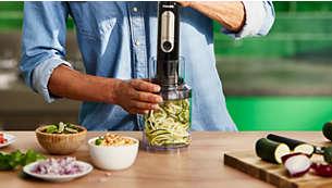 Jedinečné příslušenství spiralizéru vám pomůže jíst více ovoce azeleniny