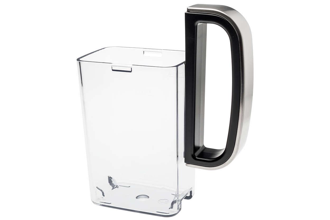 Griff für Milchbehälter, schwarz