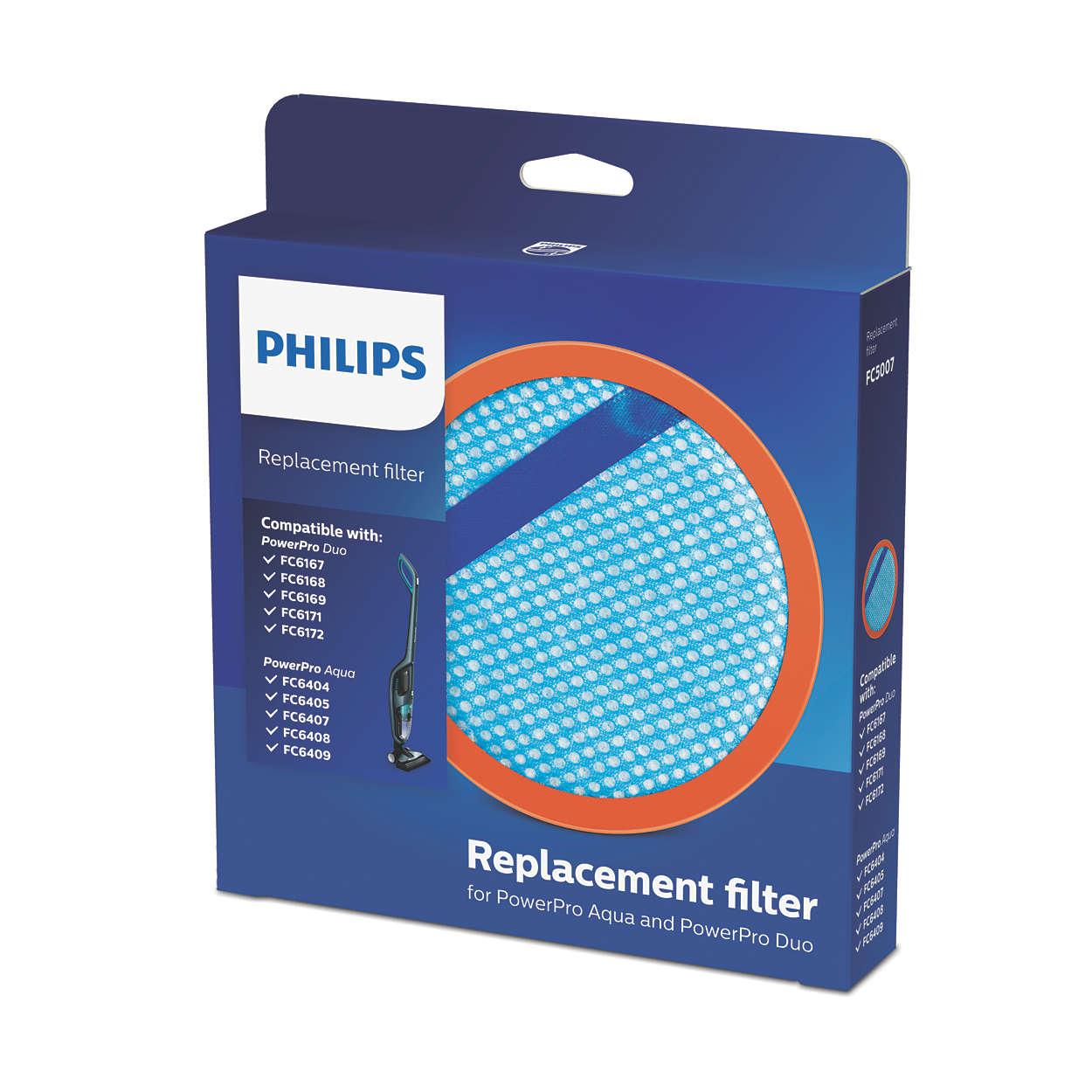 Náhradní filtr pro přístroje PowerPro Aqua aPowerPro