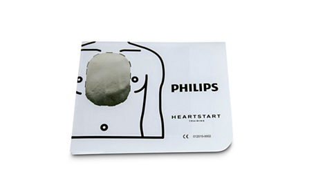 Adult Pad Placement Guide AED Training Materials