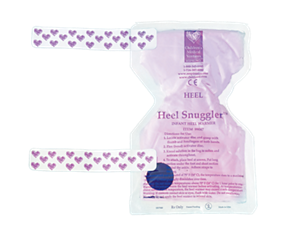 Heel Snuggler Shaped infant heel warmer