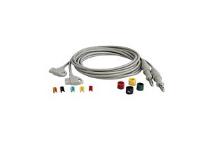 Long Limb Lead Set Diagnostic ECG Patient Cables and Leads