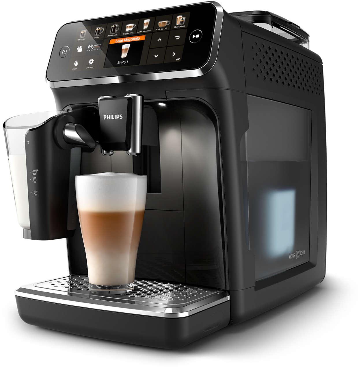 12 heerlijke koppen koffie van verse bonen, eenvoudiger dan ooit