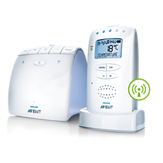 SCD525/00 Philips Avent Audio Monitors DECT-babyfoon