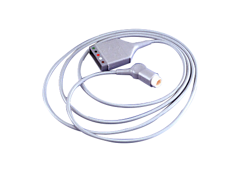 5 lead ECG Patient Trunk Cable AAMI Safety Set Trunk Cable