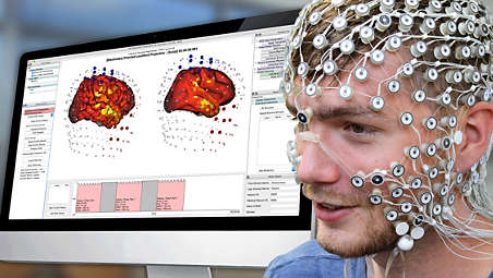 All-in-one HD EEG and tES