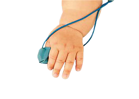 Reusable Infant Finger Glove Sensor