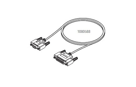 HIS / EMR Null Modem Cable Assembly Adapter Cable