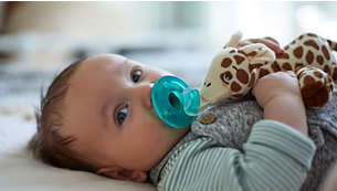 Snuggle pacifier holder