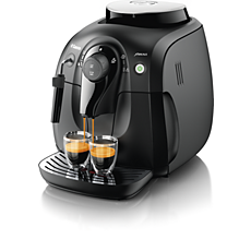 HD8645/47 Saeco Xsmall Vapore Super-automatic espresso machine