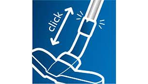 SmartLock spojnica omogućava jednostavnu prilagodbu svakom čišćenju