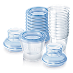 VIA Avent Breast Milk Containers