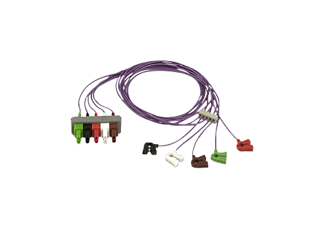 Electrode set, 5-lead ECG accessories