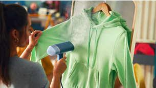 Il vapore uccide il 99,9% dei batteri*