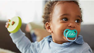 ultra air pacifier, light and breathable