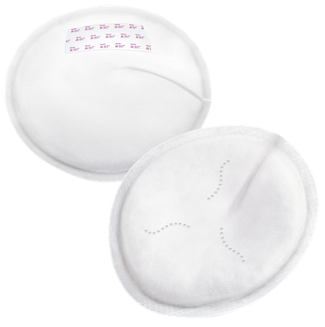 Disposable Breast Pads Soft, thin, one-time-use breast pads
