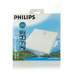 Filtre HEPA pour aspirateur Philips