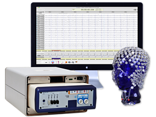 Geodesic EEG System 400 Research MR conditional kit Whole head EEG systems with high spatial resolution for use in MR environments