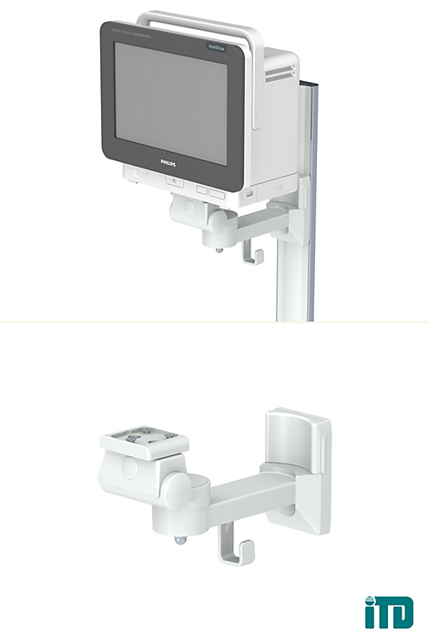 IntelliVue MX500 and MX550 Mounting solution