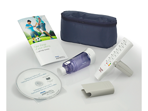 AsthmaPACK Personal asthma care kit