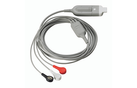 3-lead ECG Cable, AAMI ECG Cable