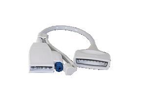 Adapterkabel Bettseitgerät/Tele EKG+SpO2 Telemetriekabel