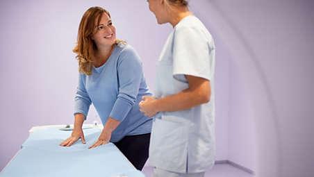 Mejorar la comodidad del paciente