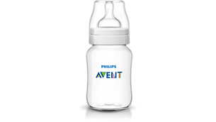 Anti-colic bottles