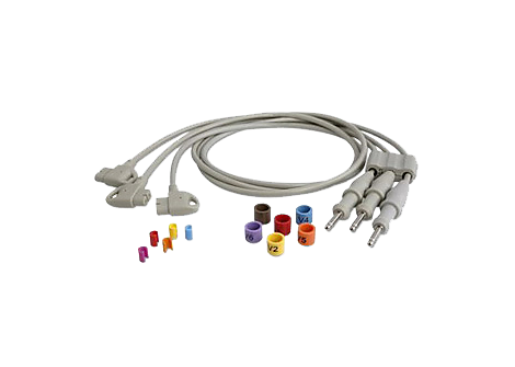 Chest Lead Set Diagnostic ECG Patient Cables and Leads