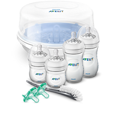 SCD208/01 Philips Avent Natural Baby Bottle Essentials Gift Set