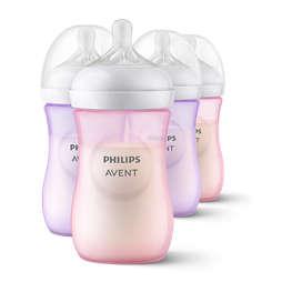 Natural baby bottle
