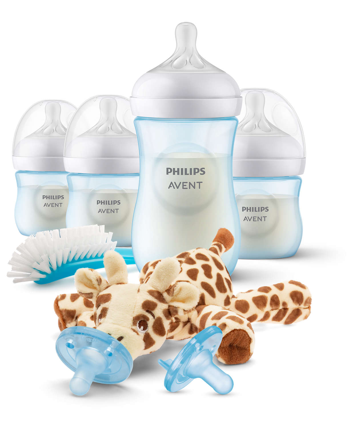 Supports baby's individual drinking rhythm