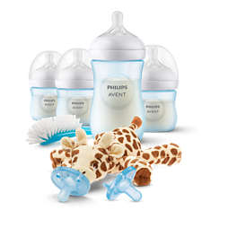 Natural Newborn Gift Set