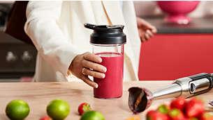 Vezměte si zdravé smoothie ssebou vpřenosné sklenici