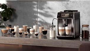 Crea 18 variedades de café con solo tocar un botón