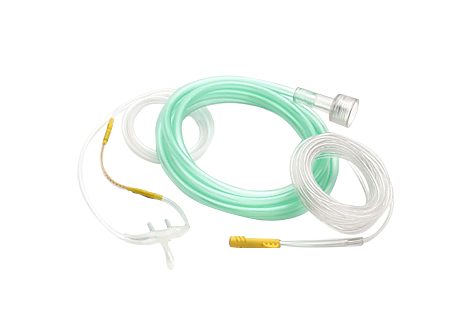 Microstream® Smart CapnoLine® H O2, pediatric, 4m Capnography