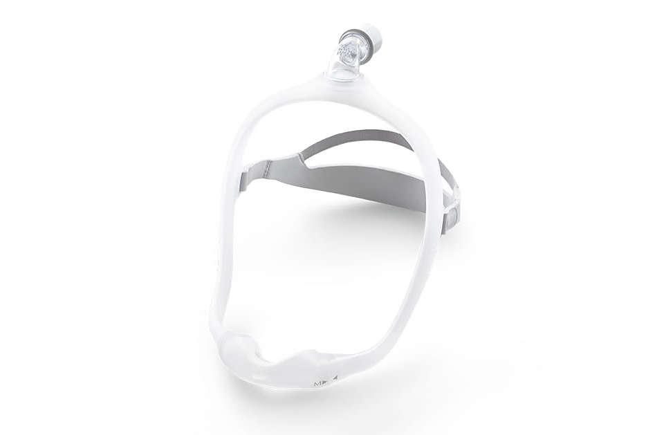 Wrażenie, jakby maski nie było na twarzy*