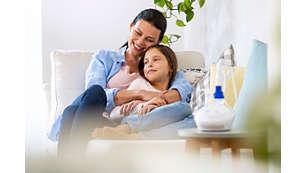 Drożne drogi oddechowe to lepiej przespane noce Twojego dziecka