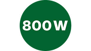 Výkonný 800W motor pro skvělé výsledky